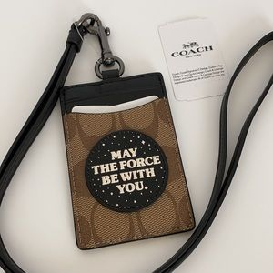 Coach x Star Wars May Force Be With You Lanyard